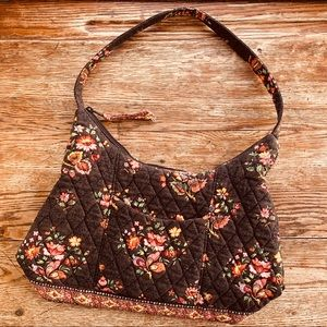 Vera Bradley—Retired Chocolat Pattern Shoulder Bag